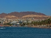 Severní pláž v Eilatu.