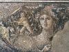 Mozaika známá jako Galilejská Mona Lisa.