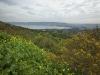 Pohled ze severu na Galilejské jezero.