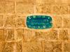 Jaffa - nádherné mozaiky označující ulice.