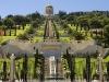 Haifa - Behaiské zahrady.